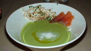 English pea soup Belcham style.