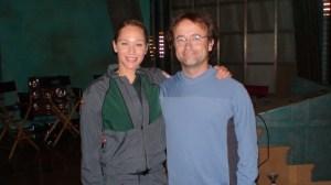 Sharon Taylor and David Nykl or, if you prefer, Amelia Banks and Radek Zelenka