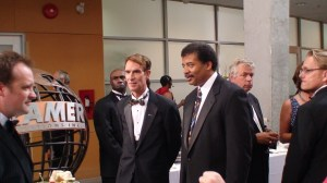 Bill Nye the Science Guy and Neil deGrasse Tyson Also the Science Guy