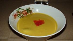 The famous corn soup!