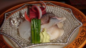 Sashimi and Hamadaya