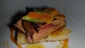 Pan-seared Quebec foie gras on brioche