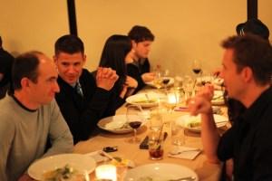 Dinner (photo compliments of Lawren Bancroft-Wilson)
