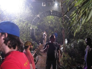 Shooting in the jungle's of Time.
