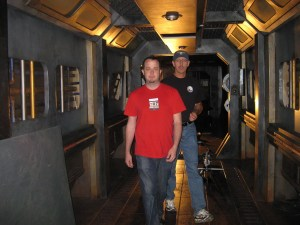 Martin Gero and Carl Binder, hosts of SyFy's new Ghost Hunters Intergalactic.
