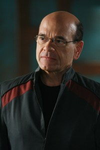 Robert Picardo as Atlantis Expedition Commander Richard Woolsey.  Photo courtesy and copyright MGM Television.