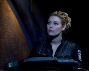 Alaina Huffman (Lieutenant Tamara Johansen) - photo courtesy and copyright MGM Television