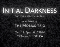 Initial Darkness flyer