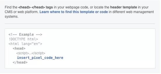 Website Pixel Code