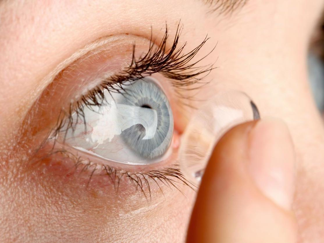 Contact Lenses in Healthy Eyesight Problems