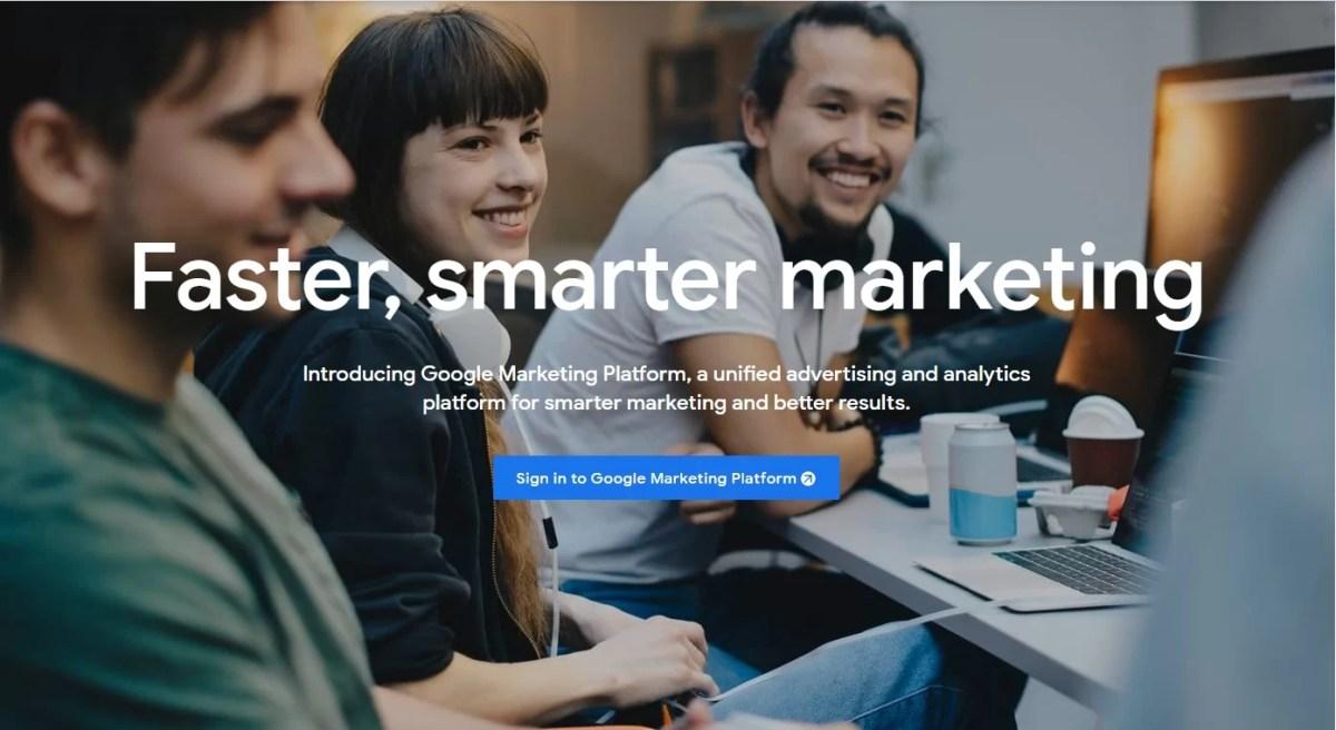 About Google Marketing Platform