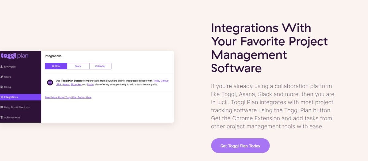 Integrations With Your Favorite Project Management Software