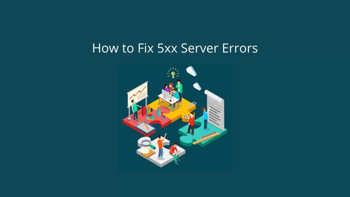 What causes 5xx Server Errors?