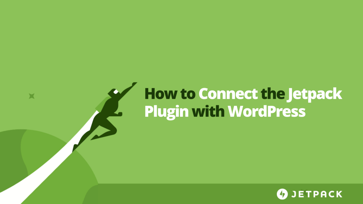 How to Connect Jetpack with WordPress