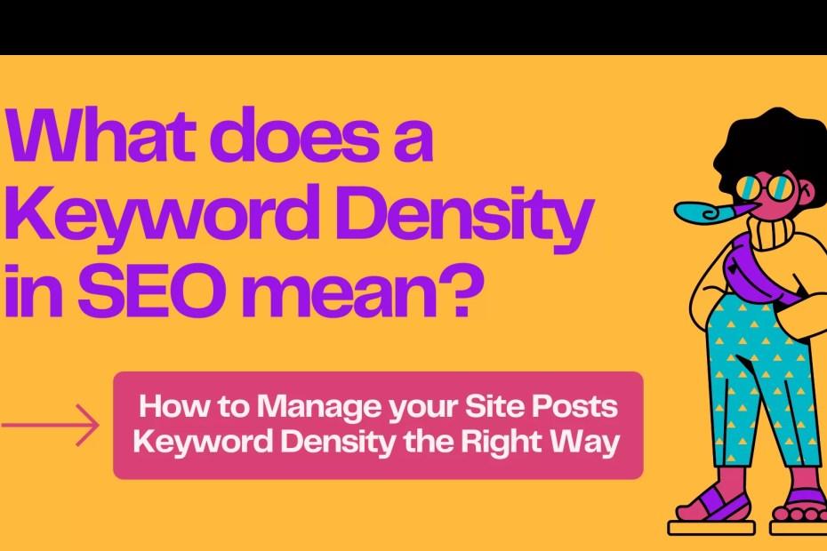 What Is Keyword Density?