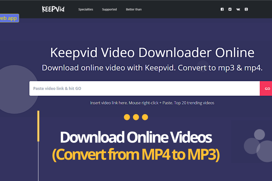 What is Keepvid?