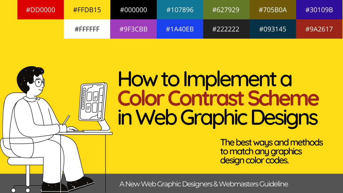 What is Color Contrast in Web Design?