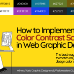 Why is Color Contrast in Web Design important? Start here!