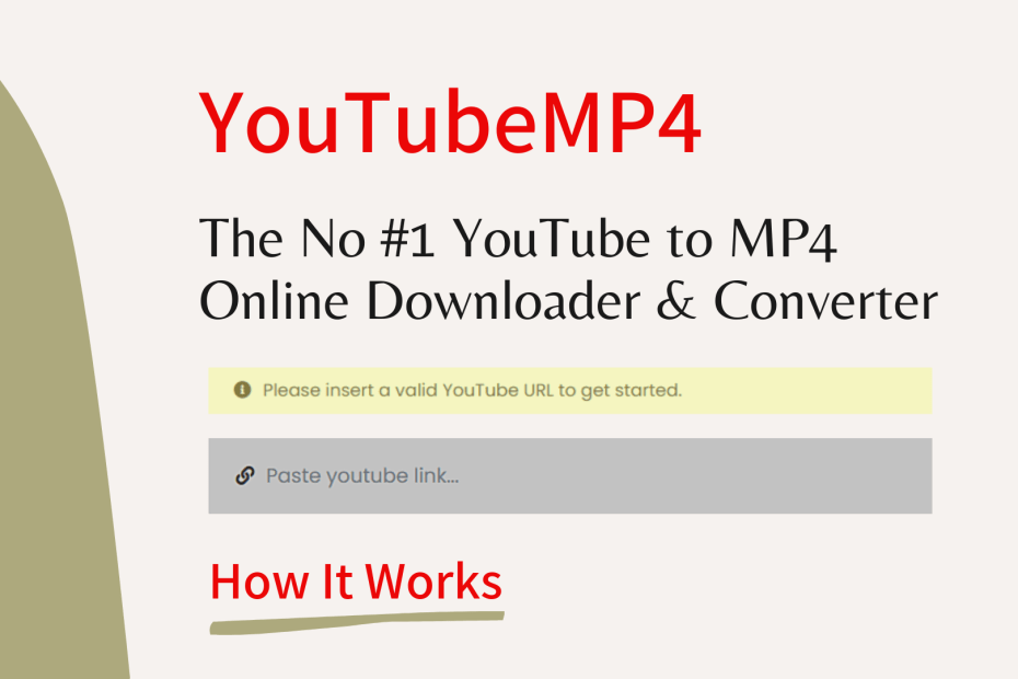 How YouTubeMP4 Works
