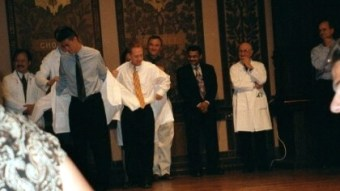 Joseph's White Coat Ceremony- Georgetown