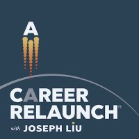 Career Relaunch Podcast Artwork- Dark 400
