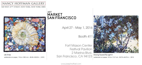ArtMRKT San Francisco 2016, Nancy Hoffman Gallery Booth 411 - Joseph Raffael