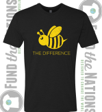 Bee the difference shirt