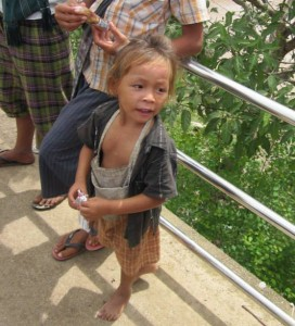 Four year old boy rescued from trafficking in 2013.