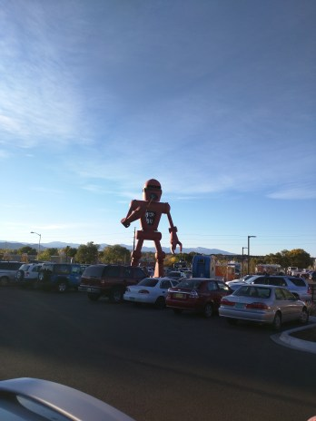 The Meow Wolf robot