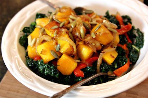 Kale-and-Squash-Salad