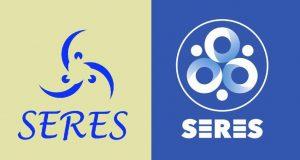 Logotipos de SERES el primero y el actualizado.