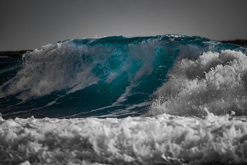 la imagen de una ola