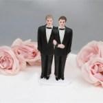 Pastel para boda gay