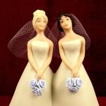 Pastel de boda lesbiana