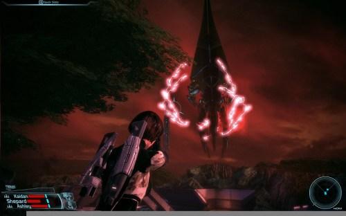 Rescatando Eden Prime de la invasion Geth