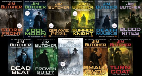 "Libros de la serie ""The Dresden Files"""