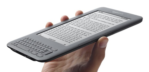 Amazon Kindle 3, otra vez.