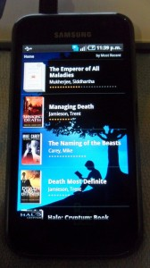 Kindle en Android