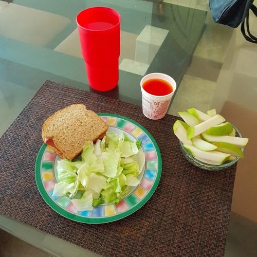 Sandwich de salchicha