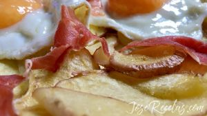 patatas rojas al microondas