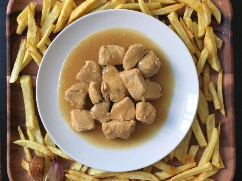 receta de pollo a la cerveza