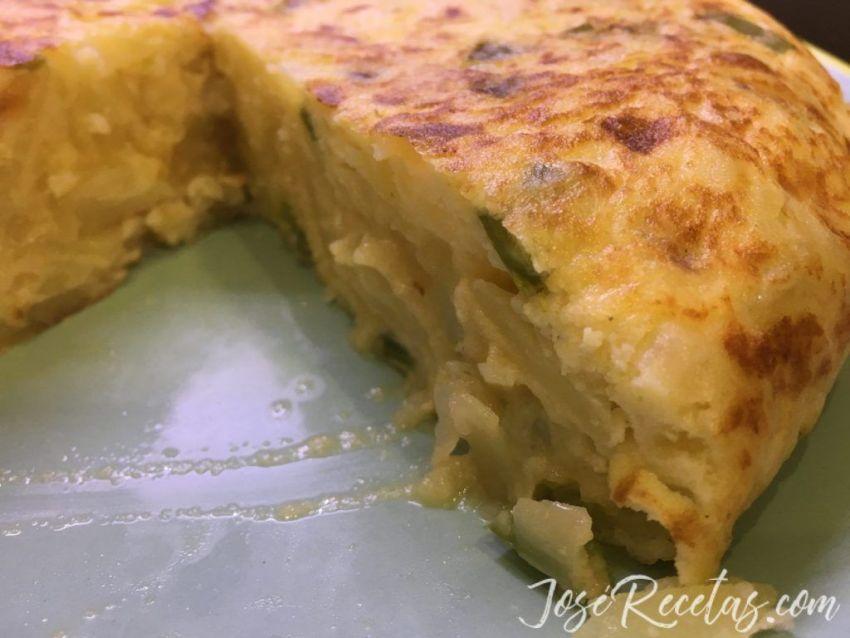 tortilla de patata de josé recetas