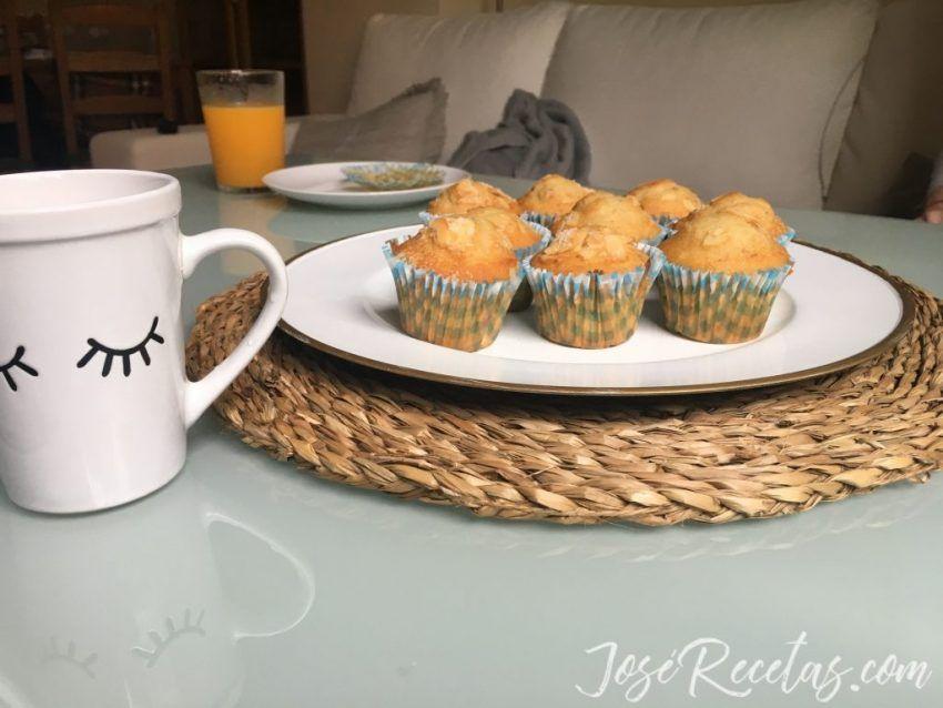 cupcakes de nueces para el desayuno