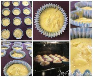 cupcakes nueces como hacer