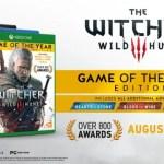Fecha y precio de Witcher 3 GOTY Edition