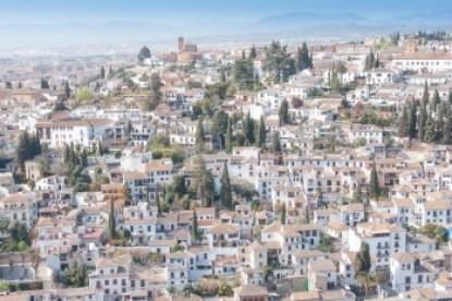 Andalusia - The Albacin Moorish neighborhood of Granada.