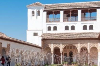 Andalusia - Granada Generalife Patio.