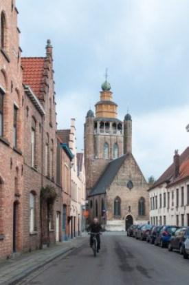 Belgium - Bruges Jerusalem Church