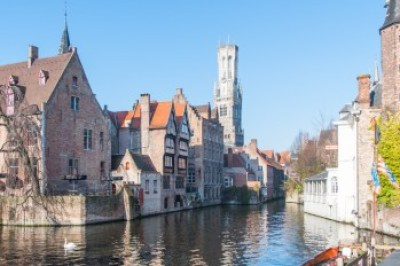 Belgium - Canals and Belfry in Bruges