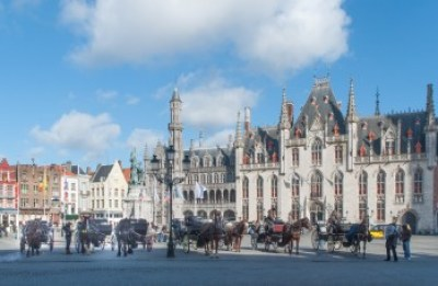 Belgium - Bruges' Provincial Courthouse